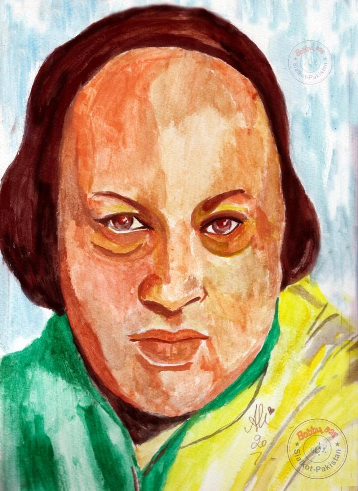 Nusrat Fateh Ali Khan por bobbydar01@gmail.com